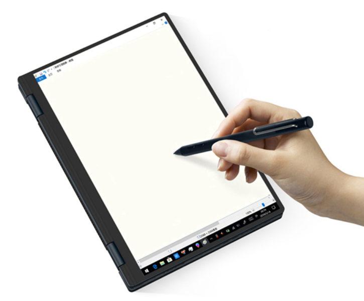One-Netbook 4 Notebook Notiz