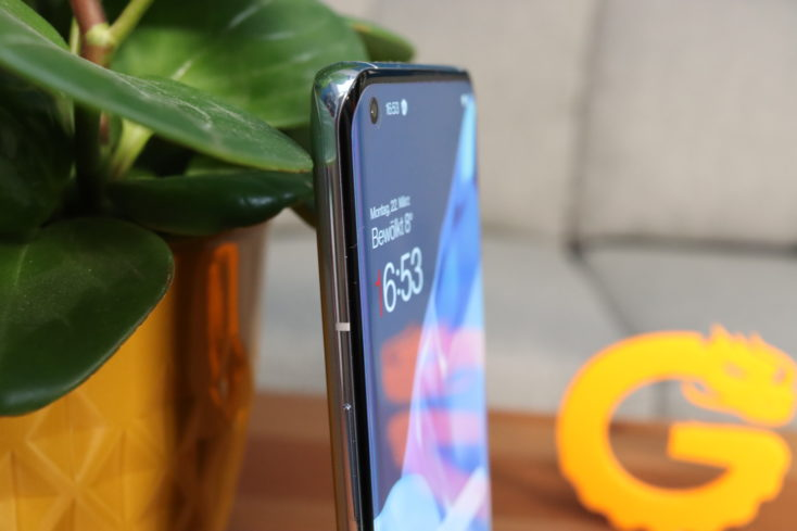 OnePlus 9 Pro Curved Screen