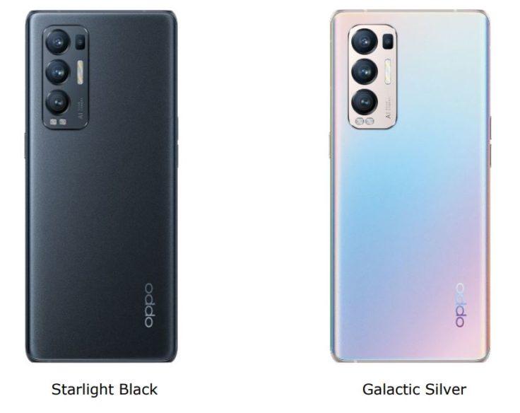 Oppo Find X3 Neo Farben