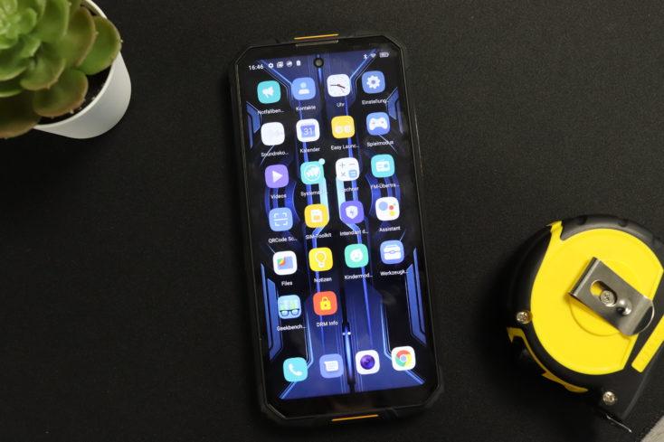 Oukitel WP10 Outdoor Smartphone Display