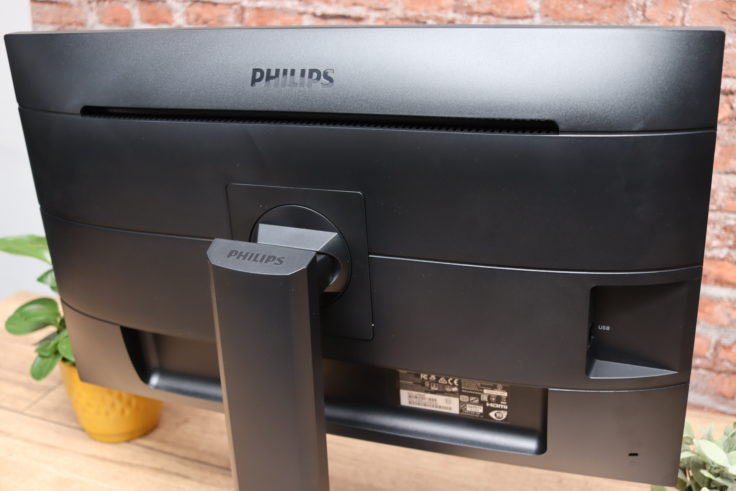 Philips 273B9 Monitor Rücskeite