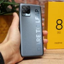 Realme 8 Pro Smartphone Rueckseite