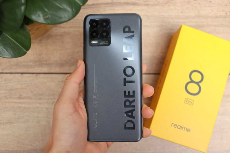 Realme 8 Pro Smartphone Verarbeitung