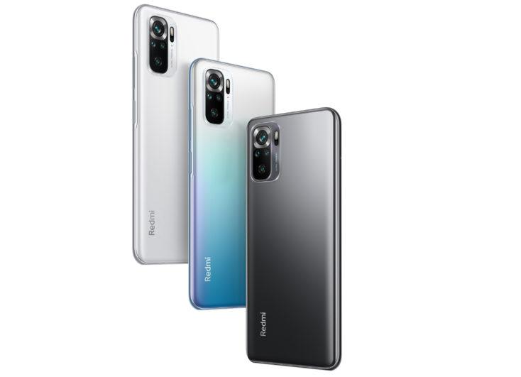 Redmi Note 10S Smartphone Farben 1