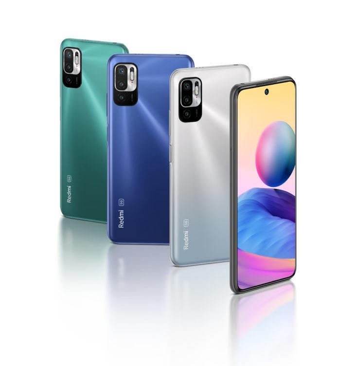 Redmi Note 10 5G Smartphone Farben
