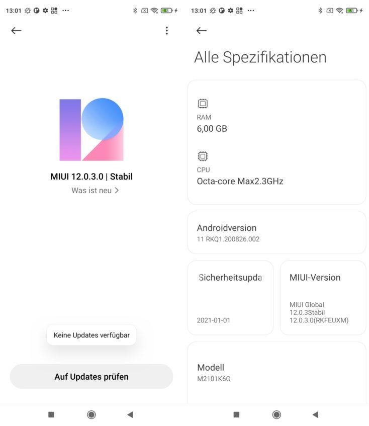 Redmi Note 10 Pro MIUI 12