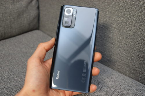 Redmi Note 10 Pro Verarbeitung