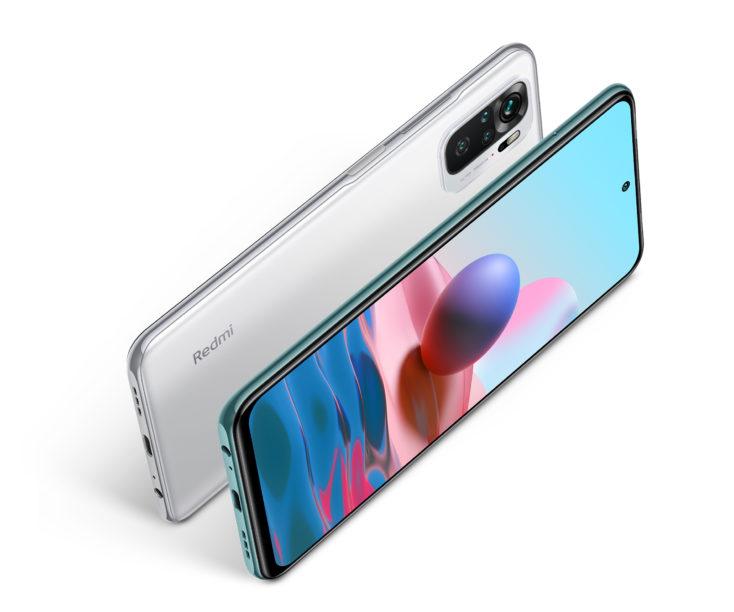 Redmi Note 10 Smartphone Weiss export