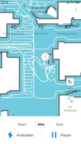 Roborock S7 Saugroboter App Schuh Problem