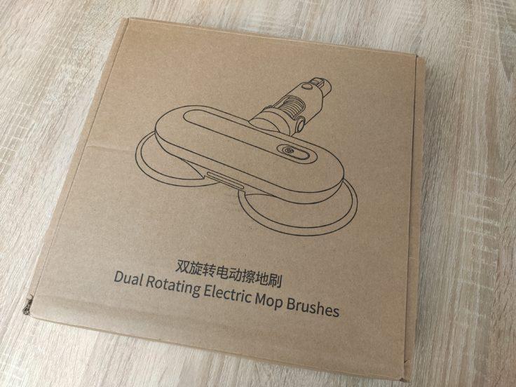 Roidmi NEX 2 Plus Akkusauger mit rotierenden Wischmoppen Verpackung