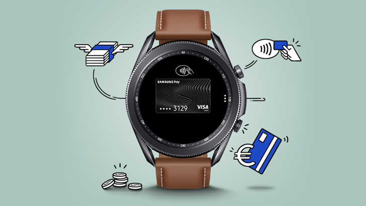 Samsung Pay Galaxy Watch 3