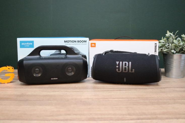 Soundcore Motion Boom & JBL Extreme 3 Vergleich