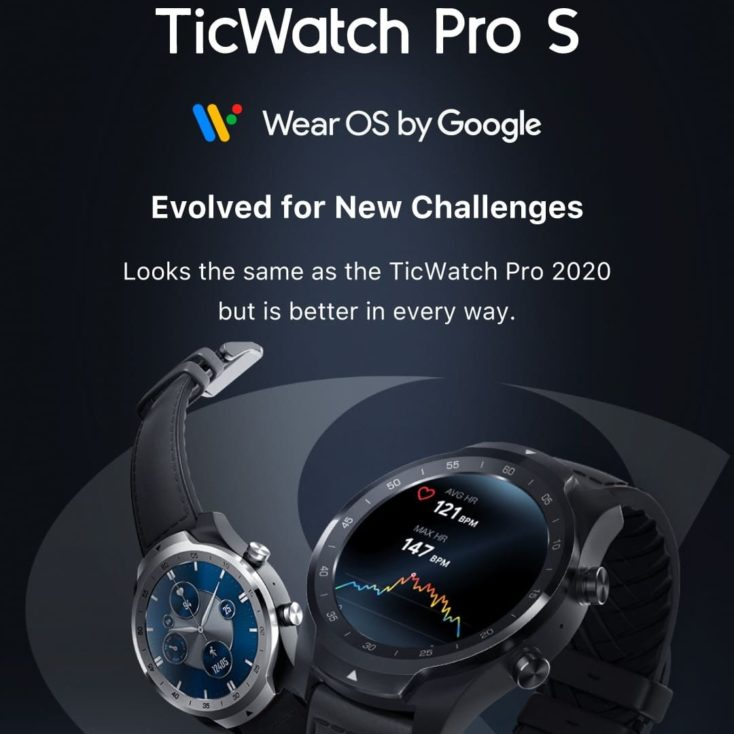 TicWatch Pro S Uhr