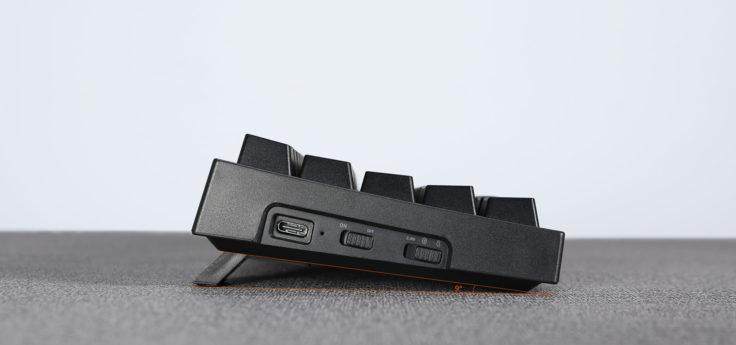 Tronsmart Elite Tastatur von der Seite