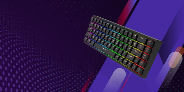 Tronsmart Elite Tastatur von vorne