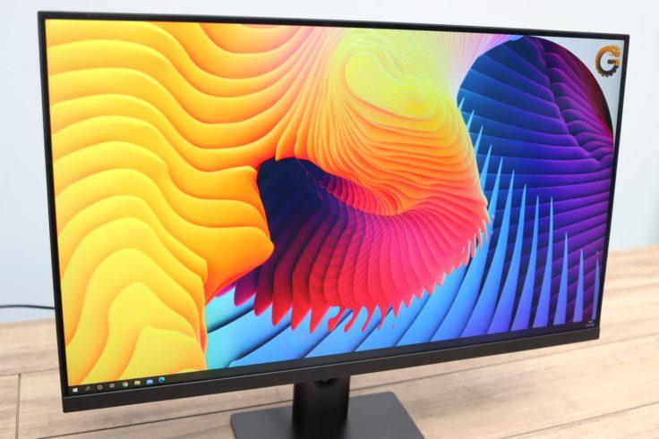 Xiaomi 27 Gaming Monitor von der Seite