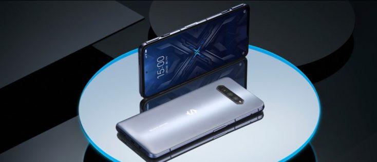 Xiaomi Black Shark 4 Smartphone Design