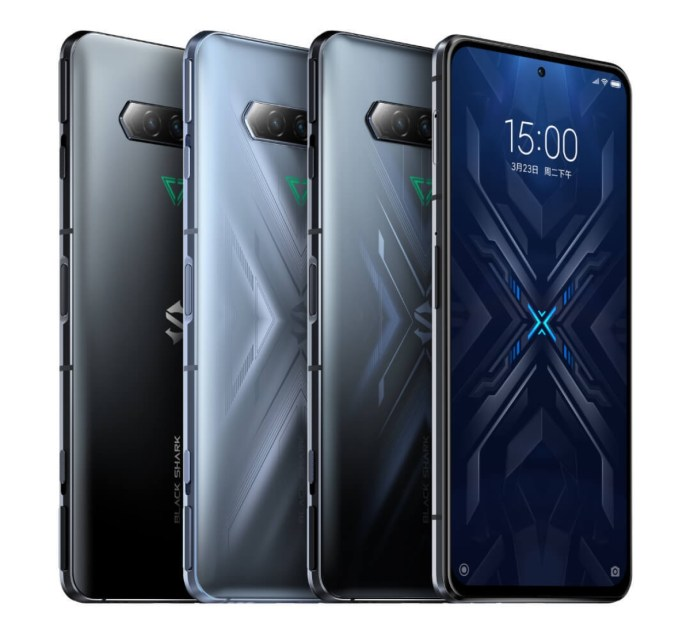 Xiaomi Black Shark 4 Smartphone Farben