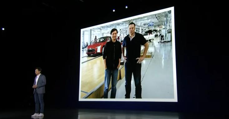 Xiaomi Elektroauto Ankuendigung 1