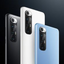 Xiaomi Mi 10S Smartphone Design