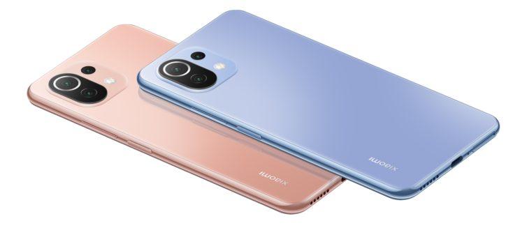 Xiaomi Mi 11 Lite 4G Farben