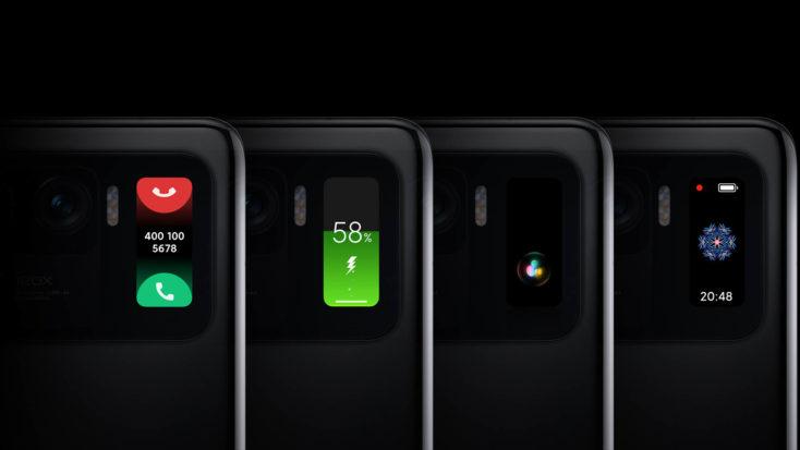 Xiaomi Mi 11 Ultra Display Rueckseite
