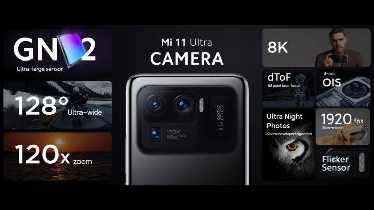 Xiaomi Mi 11 Ultra Kamera