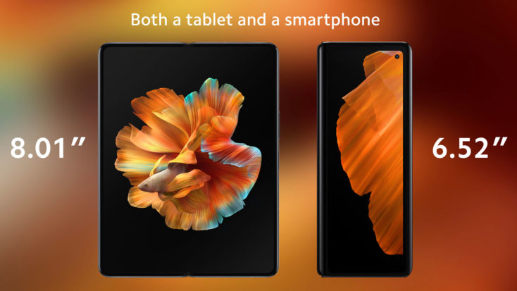 Xiaomi Mi Mix Fold Faltbares Smartphone