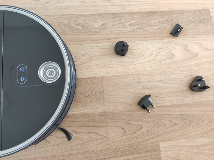 360 S10 Saugroboter 3D-Erkennung kleiner Gegenstaende