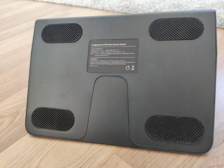 360 S10 Saugroboter Ladestation Unterseite Gummierungen