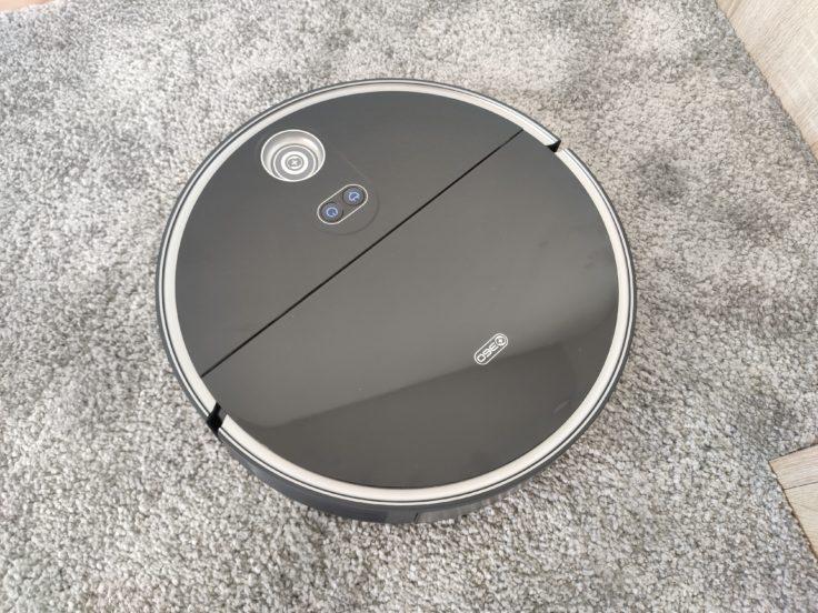 360 S10 Saugroboter Teppicherkennung