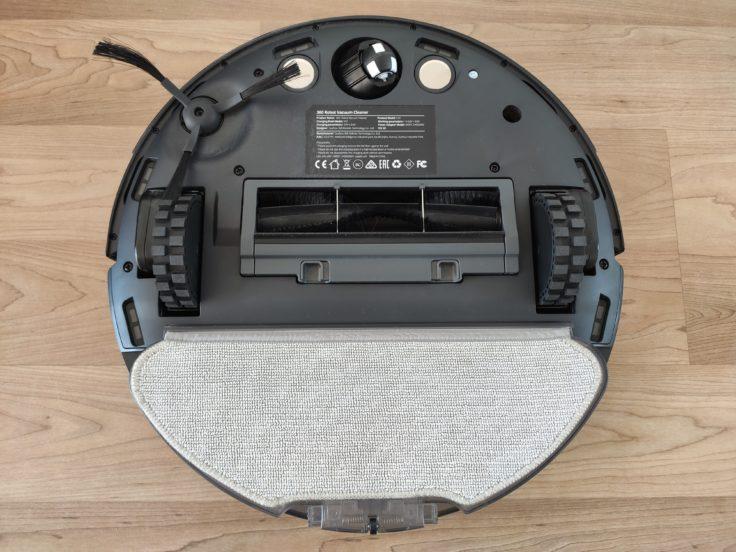 360 S10 Saugroboter Wischfunktion auf Unterseite