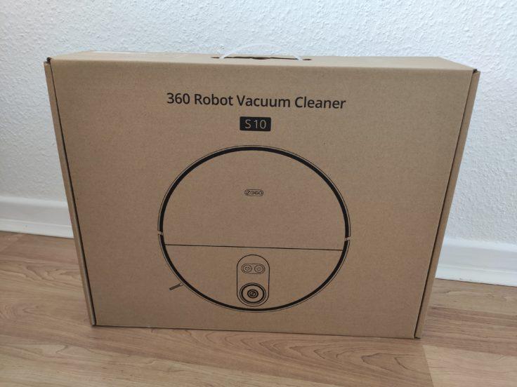 360 S10 Saugroboter Verpackung
