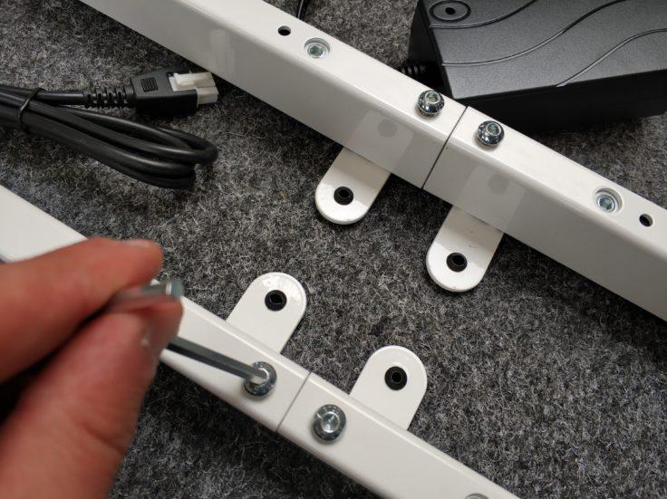 ACGAM ET225E Stehschreibtisch hoehenverstellbar Aufbau