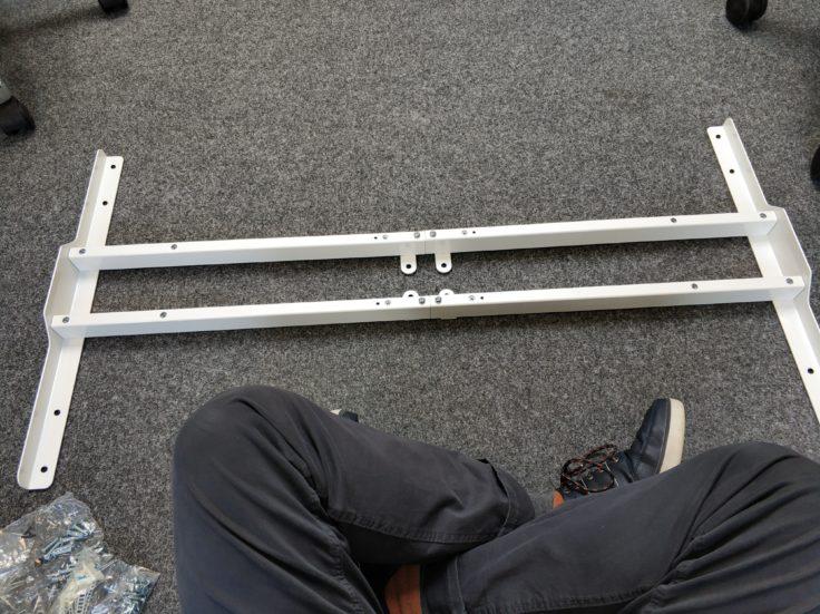 ACGAM ET225E Stehschreibtisch hoehenverstellbar erste Schritte Aufbau