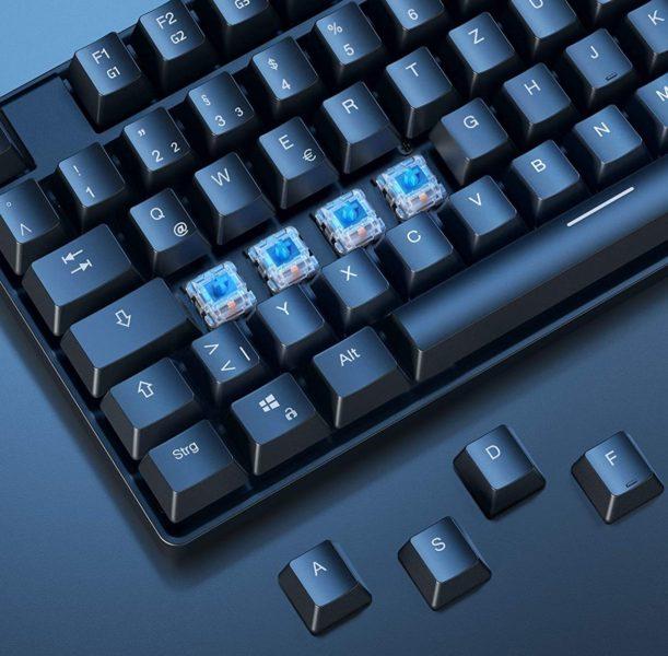 AUKEY KM-G16 Tastatur blaue Switches