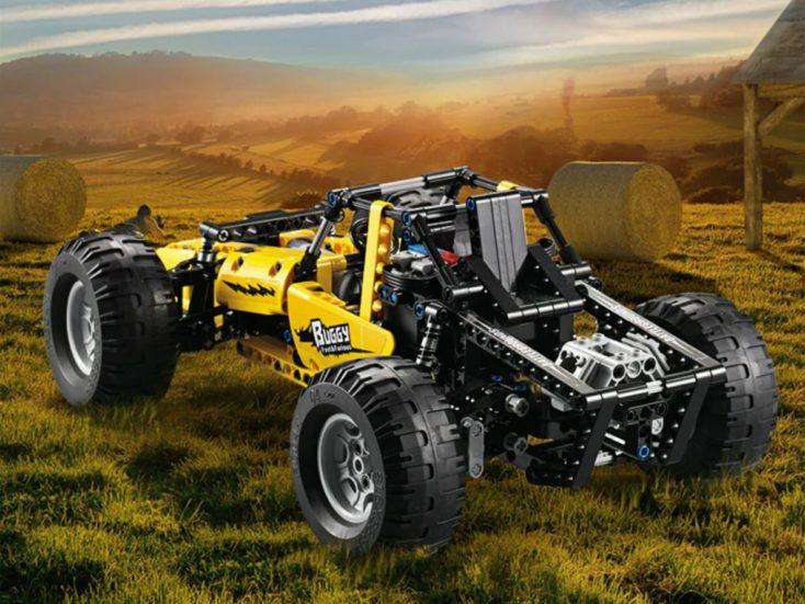 CaDA Buggy C51043W Heck