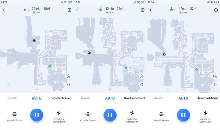 Ecovacs Deebot T9 Saugroboter App Mapping