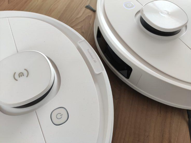 Ecovacs DEEBOT T9+ Saugroboter Vergleich Design vorne N8 Pro