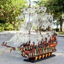 Fliegender Hollaender Klemmbaustein Schiff Bug