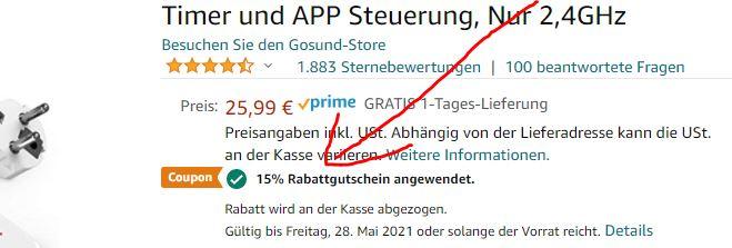 Gosund_P1_smarte_Steckdosenleuchte_Amazon-Rabatt