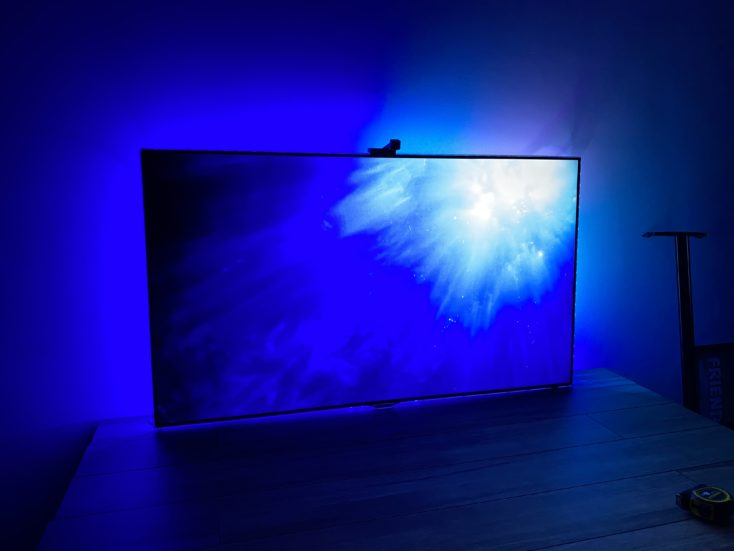 Govee WiFi LED TV Hintergrundbeleuchtung Blau LED