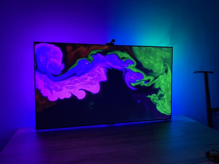 Govee WiFi LED TV Hintergrundbeleuchtung Farben gut