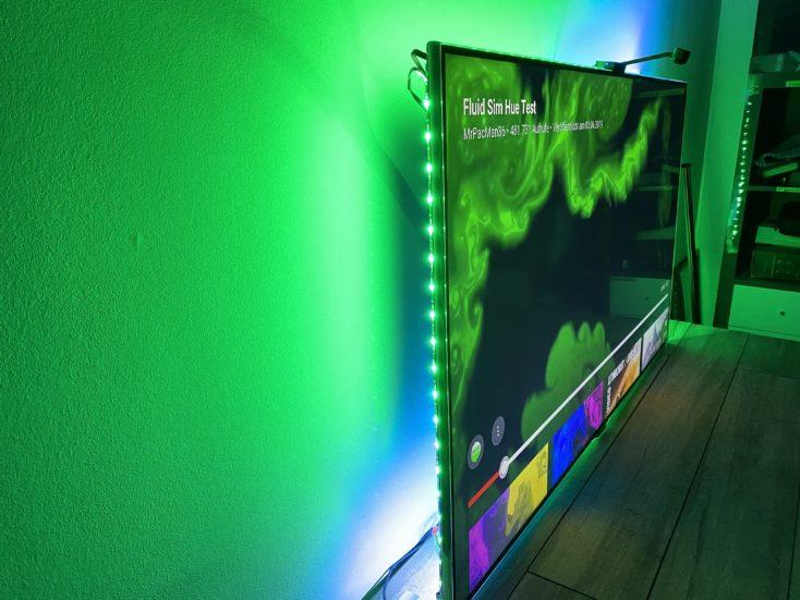 Govee WiFi LED TV Hintergrundbeleuchtung LEDs Gruen