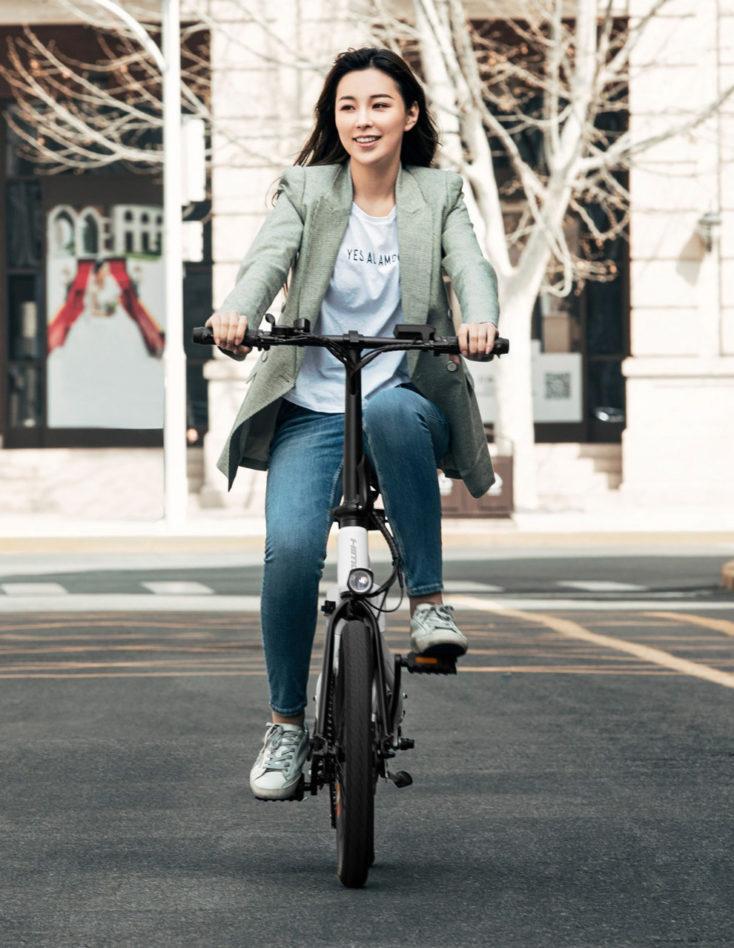 HIMO Z20 E Bike Fahren