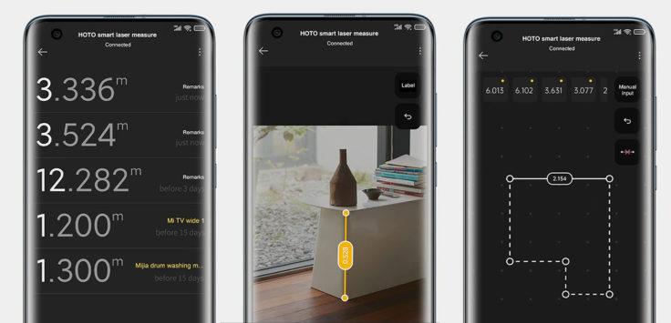 HOTO Entfernungsmesser App