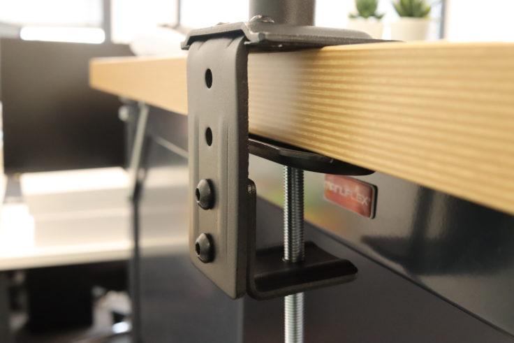 HUANUO Monitorhalterung doppelt Tischbefestigung