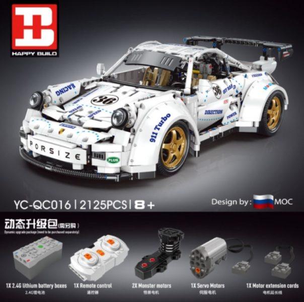 Happy Build Porsche Motor
