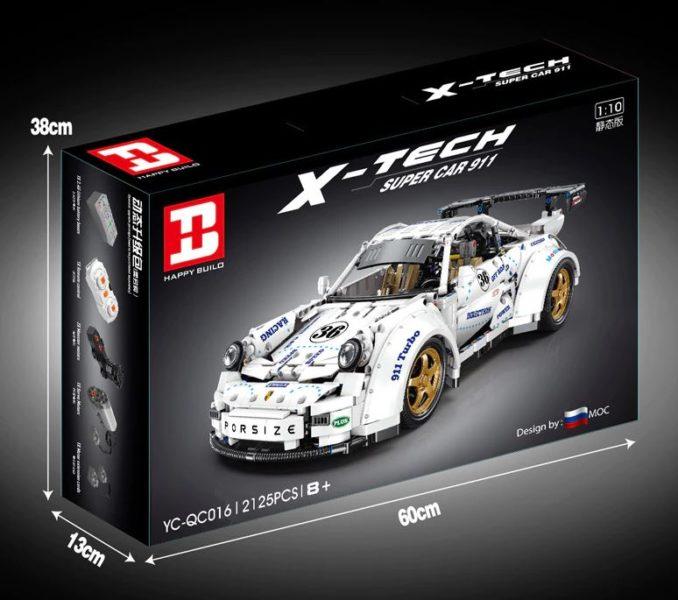 Happy Build Porsche Verpackung