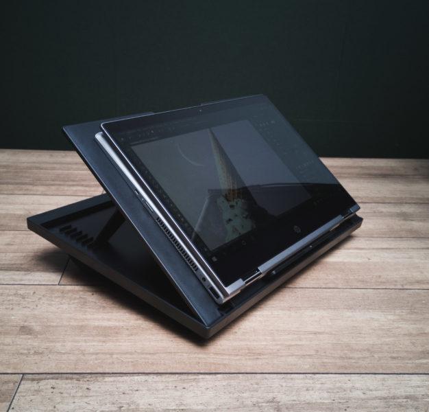 Huanuo Laptopkissen Seitenansicht